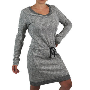 Converse | One Star Gray Sweater Dress Extra Small